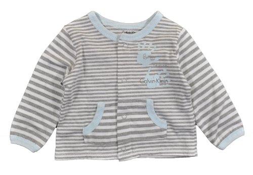 Calvin Klein Baby-Boys Newborn Stripes Cardigan With Pants