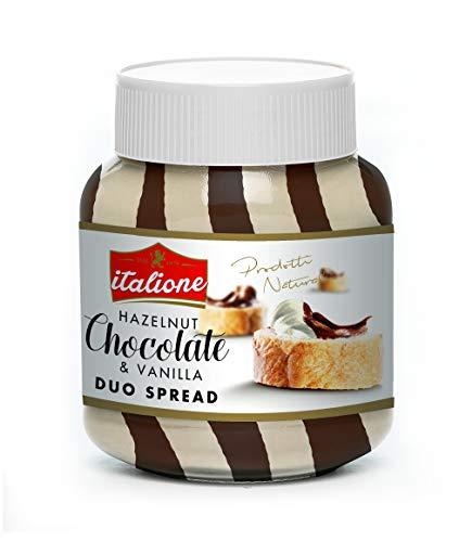 - DAL 1979 Italione Hazelnut Chocolate Spread DUO, 12.3 ounce Jar