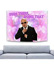 Been There Done That Tapestry Mr 305 Worldwide Tapestry Funny Tapestries Wall Hanging Poster for Dorm College Bedroom