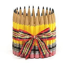Pencil Shape Planter/Vase For Teacher,Classroom, Student, Home Decor