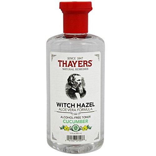 Thayer's Cucumber Aloe Witch Hazel Alcohol Free 4x 12 Oz