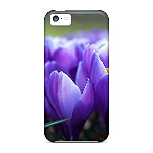 Hot Covers Cases For Iphone/ 5c Cases Covers Skin - Crocus Flowers
