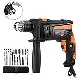 Hammer Drill 710W, 31 pcs Accessory Kit, Tacklife Impact Drill 2800...
