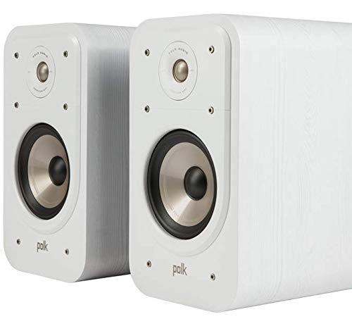 Polk Signature S20e Luidspreker, Boekenplank Speaker voor HiFi Home Cinema, Boekenplank Speaker met 125 Watt, 2 stuks…