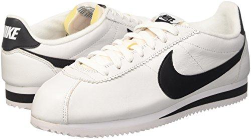 Classic Running Nike de Black Blanco White para Cortez Zapatillas Negro Hombre Prem XqqdS