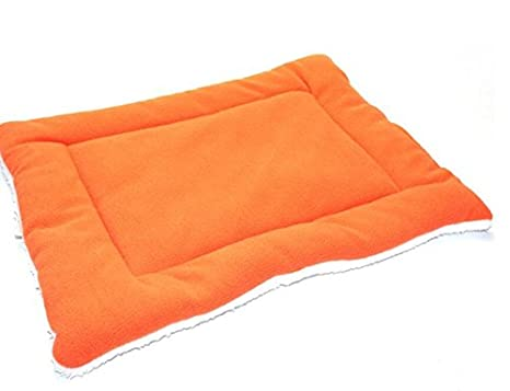 Xinjiener Cuatro Estaciones Disponibles Pet Mat Cat Dog Aire Acondicionado Mat Orange S: Amazon.es: Productos para mascotas