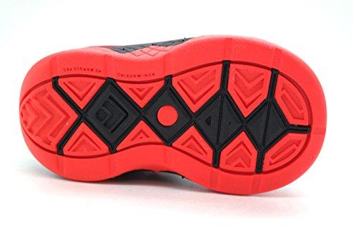 Nike Zoom Soldado Viii zapatos de entrenamiento deportivo BLACK/WHITE-GYM RED-BRIGHT CRIMSON