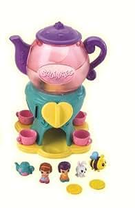 Squinkies 78284 Twister Set - Juego de té con tetera, 4 tazas y 5 figuras Squinkies