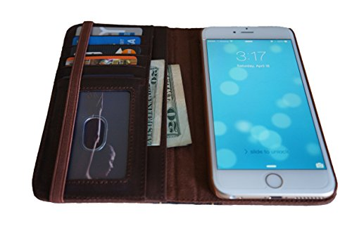CHAPTER XVI THE BOOK for iPhone 6 Plus (5.5 inch) - Genuine Vintage Leather iPhone 6 Plus Case with Wallet (Vintage Brown) by CHAPTER XVI (Image #5)