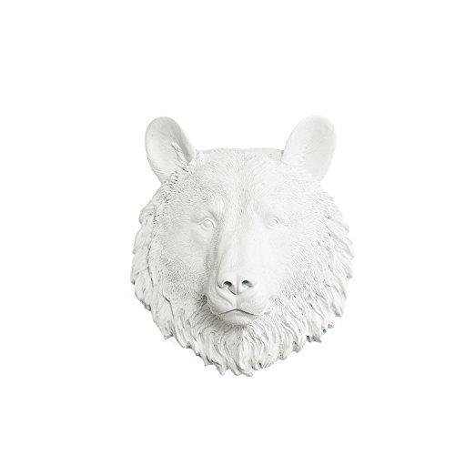 resin bear head - 5