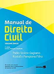Manual de direito civil : Volume único - 3ª edição de 2019