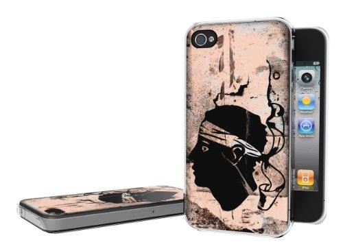 Master Case - Coque iPhone 4/4S Drapeau Grunge - Corse