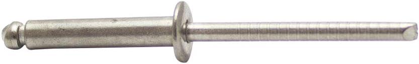 Blindnieten DIN 7337 m Flachkopf 3,2 X 18 mm Edelstahl A2 - Popnieten Nieten 20 St/ück