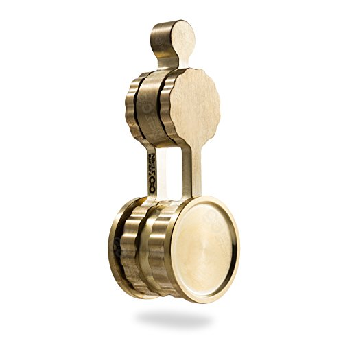 in - Double Bearing Brass Fidget Toy - Premium R188 Bearings (Bearings Orbit)