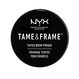 NYX PROFESSIONAL MAKEUP Tame Frame Eyebrow Pomade, Chocolate