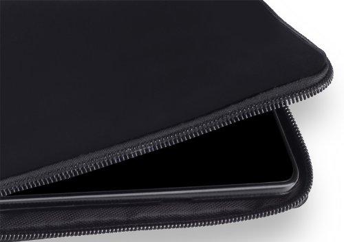 yayago Hülle für Apple iPhone 6S Silikon Schutzhülle Hülle Case Backcover mit Reißverschluss Schwarz