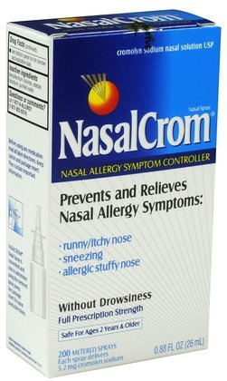 Nasalcrom Non-Drowsy 200 Metered Nasal Spray-0.88 oz. (Pack of 2)