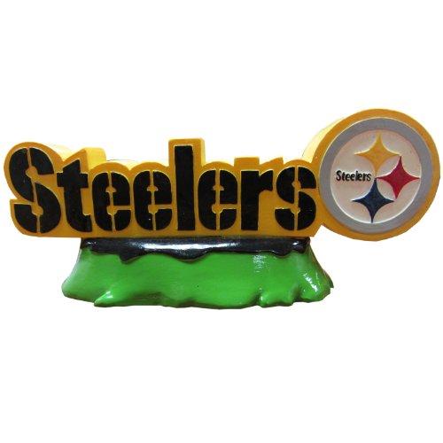 Pets First NFL Pittsburgh Steelers Team Logo Aquarium Tank Ornament