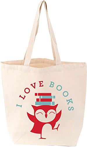 I Love Books Tote
