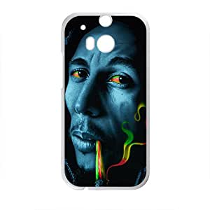Gorgeous Eyes Smoke Design Plastic Case Cover For HTC M8