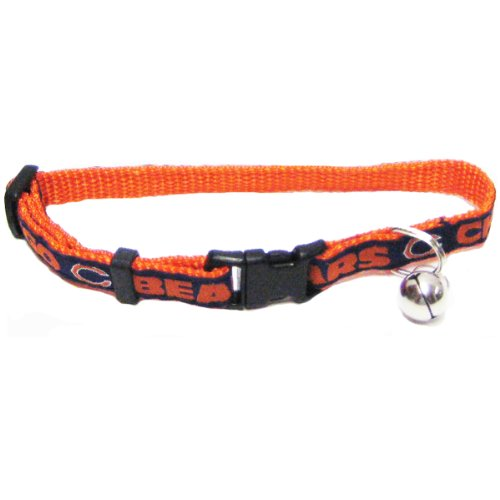 Pets First NFL Chicago Bears Cat Collar