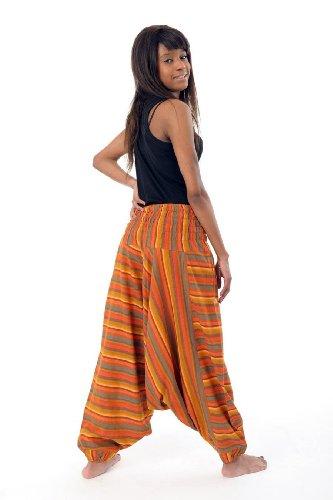 - Sarouel elastique rayures nepal -