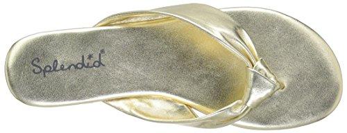 Gold Splendid Splendid Women's Sandal Bridgette Women's Bridgette R64nwvqg