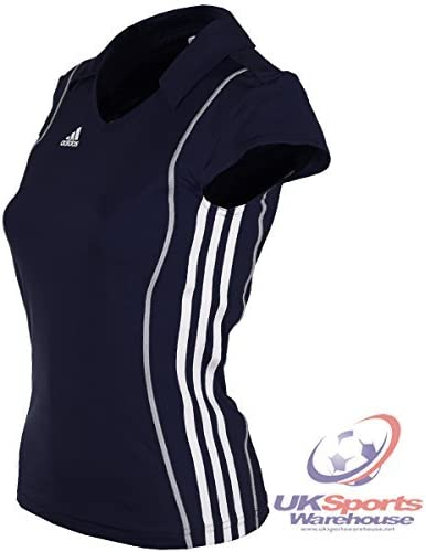 adidas T8 Mujer Equipo Climalite Formotion 3D Polo Azul marino ...