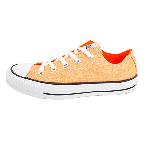 Converse - Zapatillas de lona para hombre Naranja naranja neón
