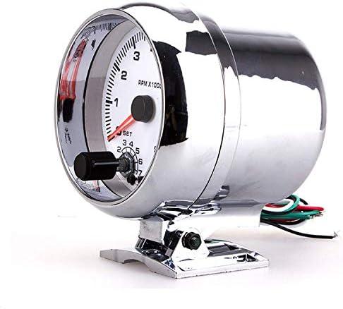 GJNVBDZSF Multimeter 3.75 Inch Tachometer 0~8×1000rpm Car Modification Instrument Multimeter Digital Tester