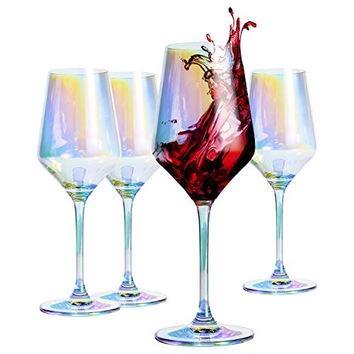 HOMQUEN Red Wine Glass 13 Ounce,...
