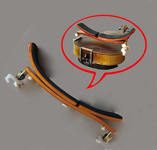 Adjustable position maple shoulder rest / pad for - Electric Viola 14 Inch