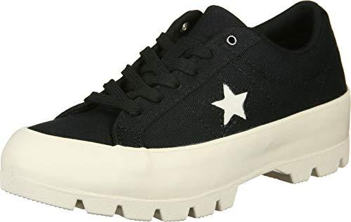 egret Converse Ox One Nero Sneaker Donna Star Lugged Nero rY6a6xnO