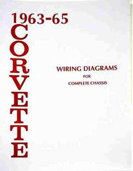 [SCHEMATICS_4PO]  1963-1965 Corvette Wiring Diagram Manual Reprint: Chevrolet: Amazon.com:  Books | Image 63 Vette Wiring Diagram |  | Amazon.com