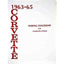 1963-1965 Corvette Wiring Diagram Manual Reprint