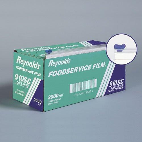 RFP910SC - PVC Food Wrap Film Roll in Easy Glide Cutter Box by Reynolds