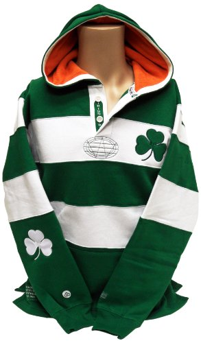 Ireland Rugby Shirt Hoodie, X-Large