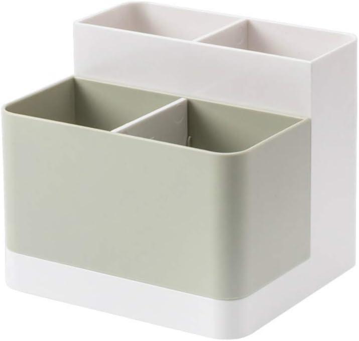 donfhfey827 Creativo Compartimento Multifuncional, cosméticos, papelería, Caja de Acabado, Grandes almacenes, Oficina en casa, Caja de Almacenamiento de Escritorio: Amazon.es: Hogar