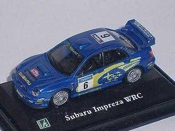 Amazon.com: Subaru Impreza WRX WRC Rally Rally blau 6 ...