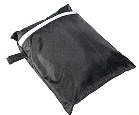 Amazon.com : Black Waterproof BBQ Grill Barbeque Cover Outdoor Rain Grill Barbacoa Anti Dust Protector For Gas Charcoal Electric Barbecue Bag : Garden & ...