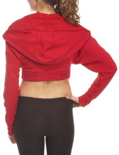 Nike Rot Damen DanceFIT Hooded Rot Top IrIFwq8