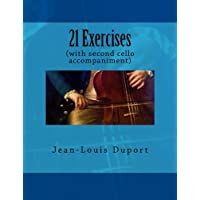 21 Exercises: (with second cello accompaniment)