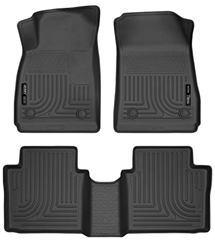 Husky Liners Fits 2014-19 Chevrolet Impala Weatherbeater Front & 2nd Seat Floor Mats