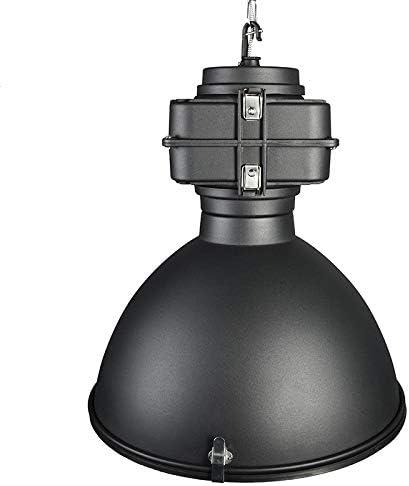 QAZQA Industrial Lámpara colgante industrial negra 53 cm - Sicko ...