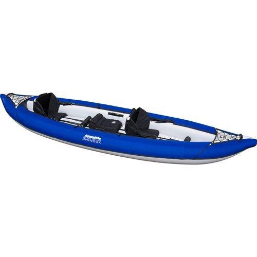 Aquaglide Fins - Aquaglide Chinook 120 XL Tandem Inflatable Kayak.