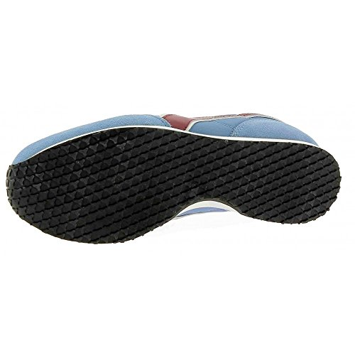 Diadora K-Run Ii, Zapatilla de Deporte Baja del Cuello para Hombre, Dark Blue/Ferrari Red azul claro