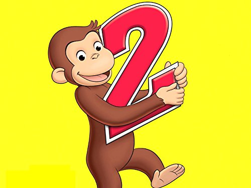 - Curious George 2 Year Old Edible Cake Topper Frosting 1/4 Sheet Birthday Party