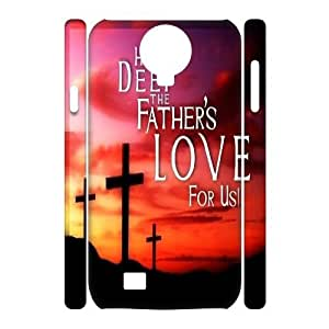 diy 3D Case Cover for SamSung Galaxy S4 I9500 - Lead We To The Cross case 3
