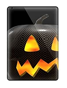 Durable Case For The Ipad Air- Eco-friendly Retail Packaging(the Halloween Picture )