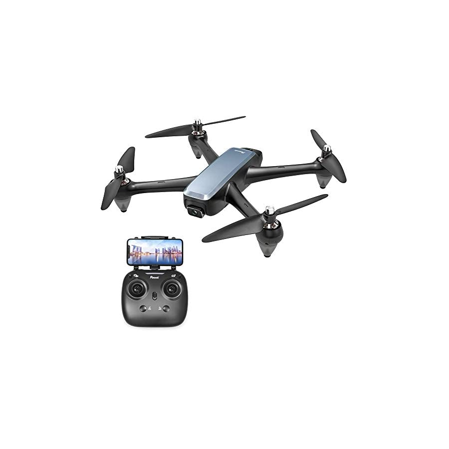 Brushless GPS FPV RC Drone, Potensic D60 Drone with 1080P Camera Live Video & GPS Return Home, RC Quadcopter for Adults with Strong Brushless Motors, Follow Me & 5G WiFi Transmission 2